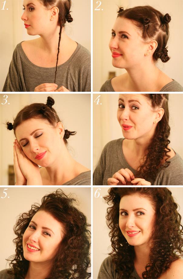 Как сделать красивые локоны если нет плойки