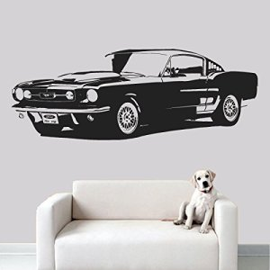 Automobile Wall Decal Sticker Art