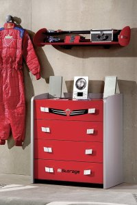 Turbo Chest with 4 drawers