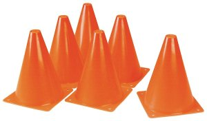 Duratrax Kwik Trak Orange Racing Cones, 6.5