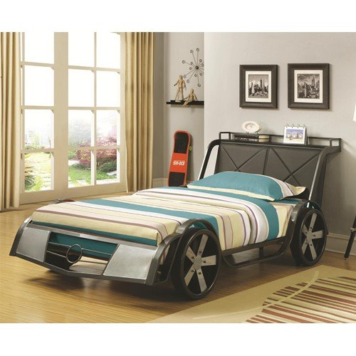 Race Car Twin Bed By Coaster Furniture