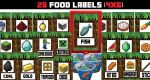 Printable Minecraft Food Labels