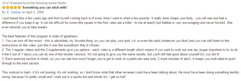 Amazon review 4