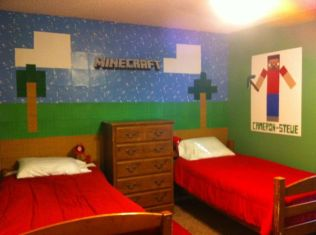 minecraft bedroom decorations amazing minecraft bedroom decor ideas approved 12393